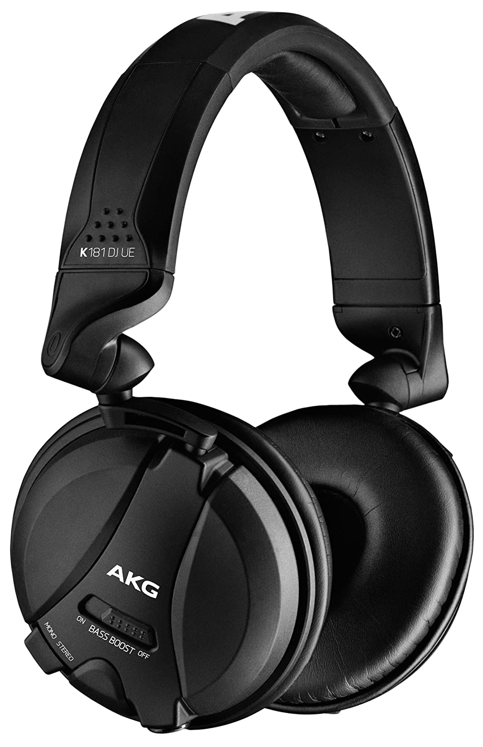 AKG K181DJUE DJ Headphones - Over Ear - Stereo Mono Switch - Black AKG K181 DJ UE