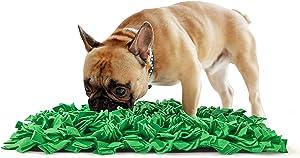 Tamu style Dog Snuffle Mat for Feeding, Hunting, Foraging (12½
