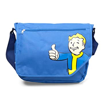 Fallout 4 Vault Boy Messenger Bag by Fallout: Amazon co uk: Toys & Games