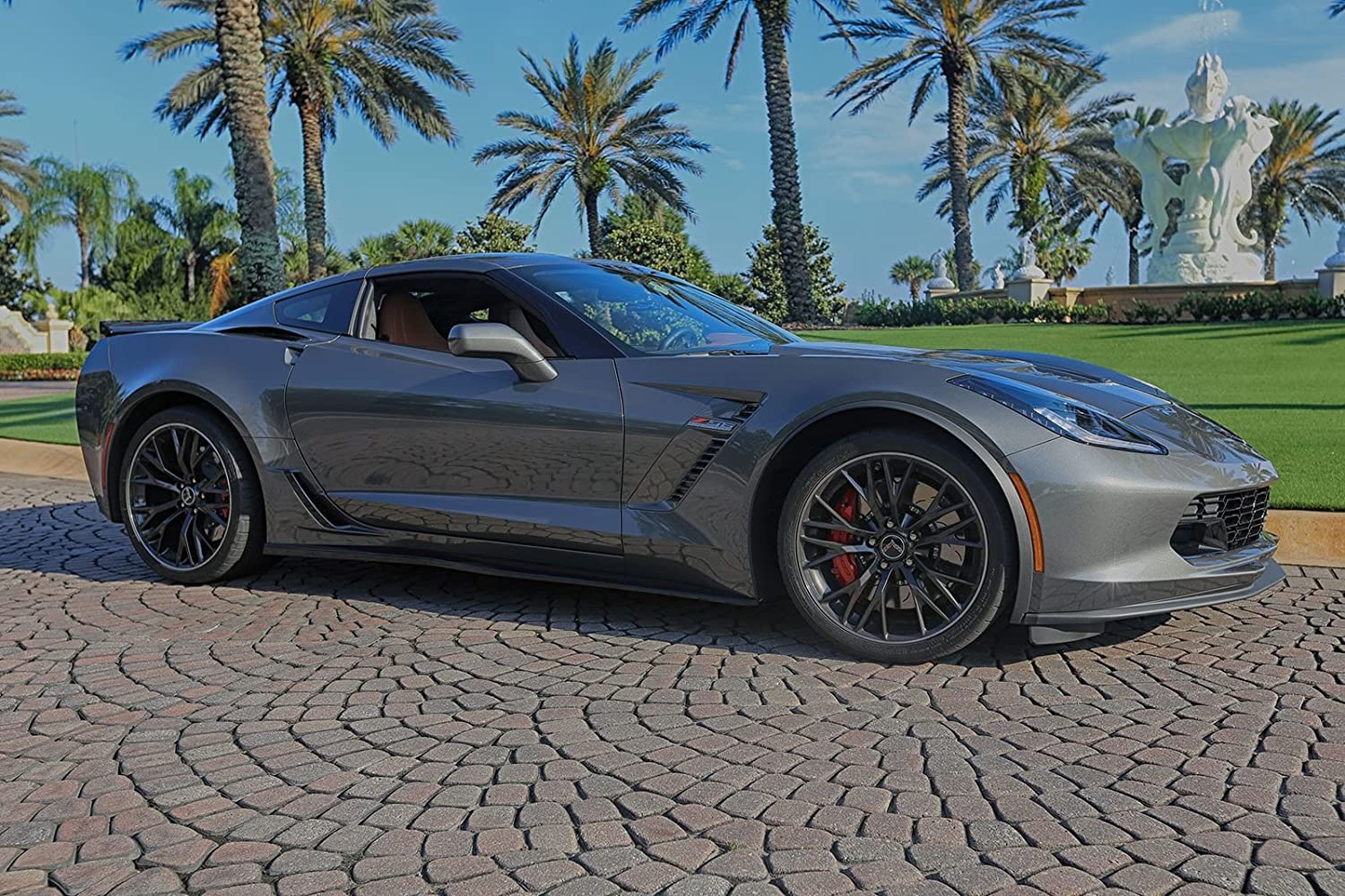 Amazon.com: Corvette C7 Z06 ACS Rocker Panels Side Skirts Painted ...