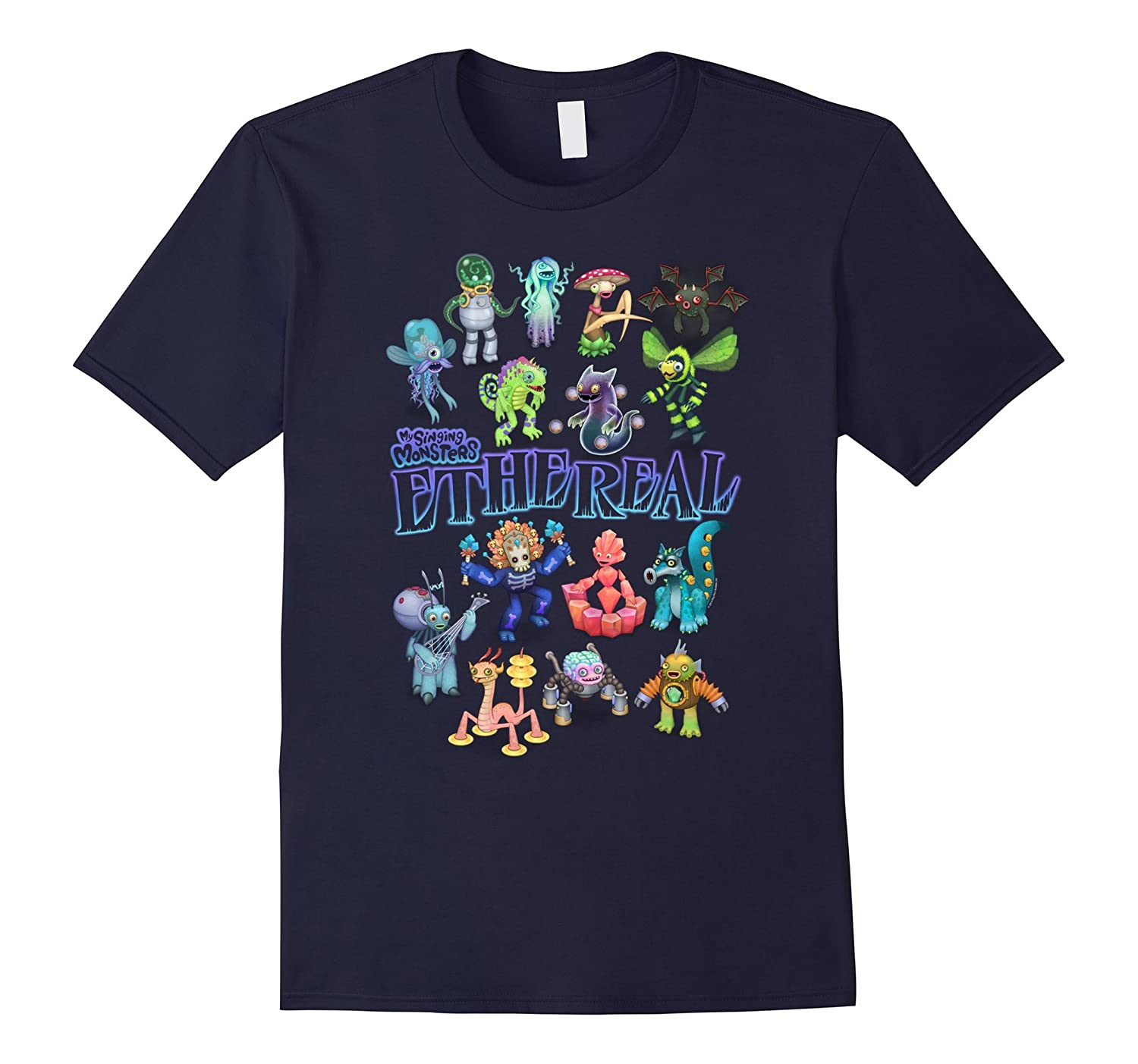 My Singing Monsters Ethereal Monsters T-shirt-CD
