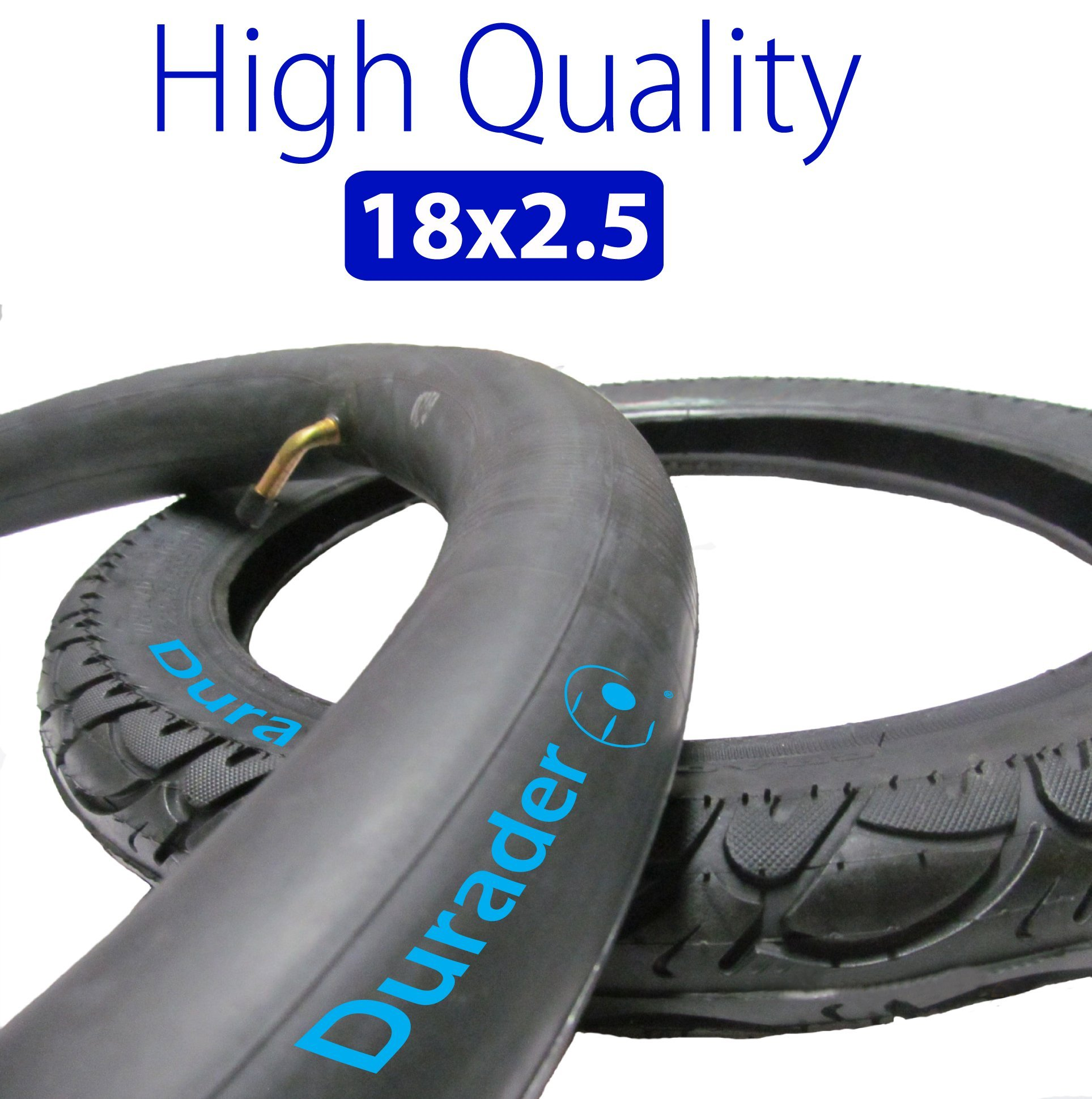 18x2.50 / 64 - 355 Inner Tube & Tire for Electric Bike by Lineament
