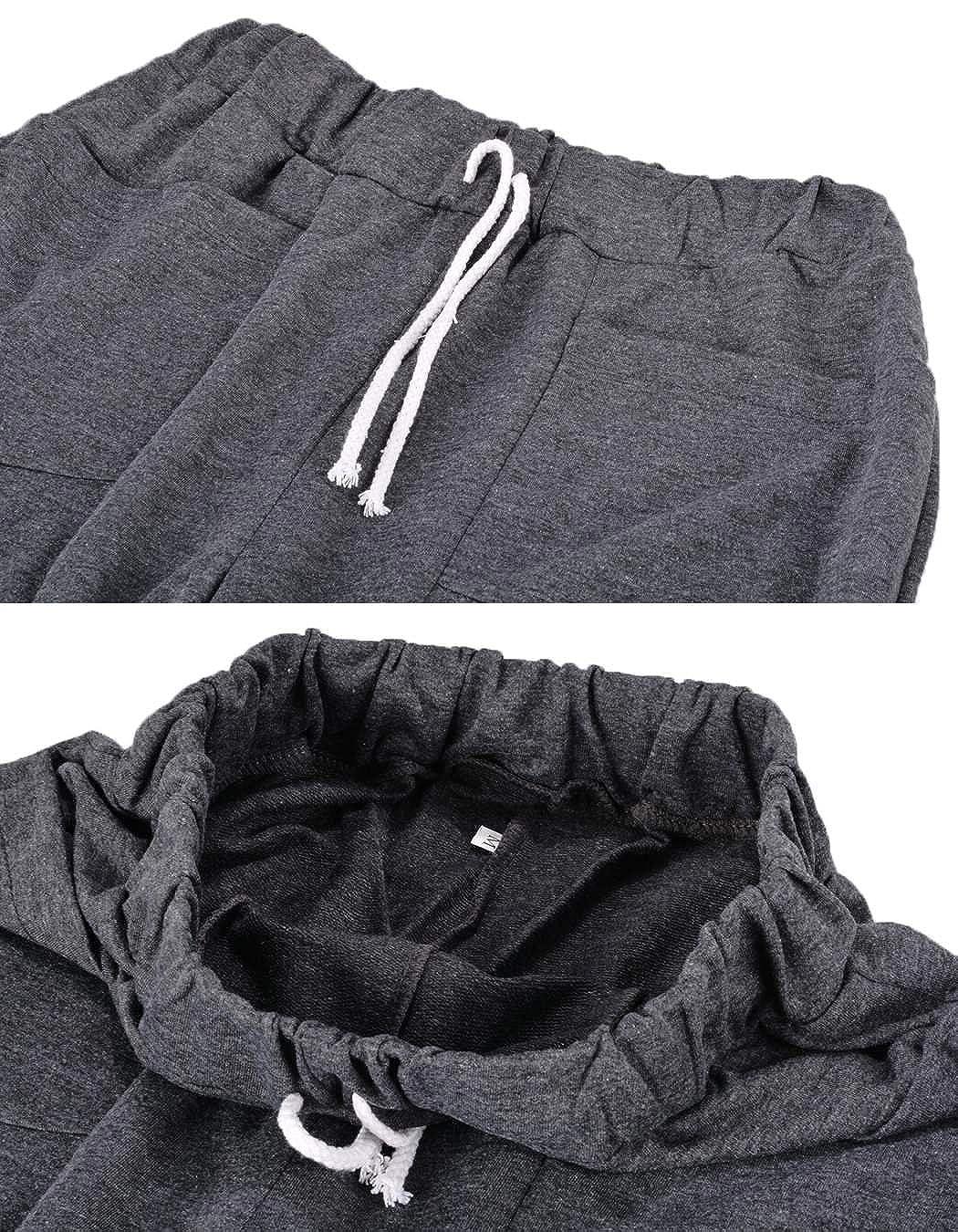 eshion New Cool Mens Regular Fit Sports Harem Pants Bag Jogging Trousers 3 Colors DZ88
