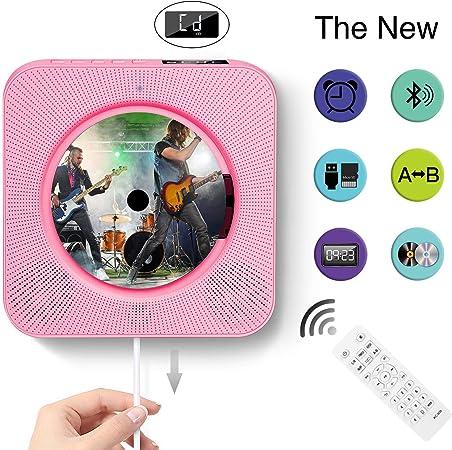 Cd Player Wall Mountable Bluetooth Home Audio Remote Elektronik
