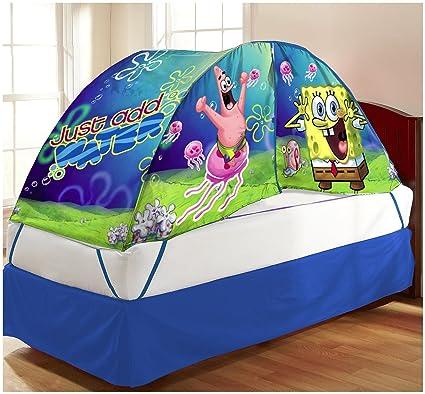 SpongeBob Bed Tent & Amazon.com: SpongeBob Bed Tent: Home u0026 Kitchen
