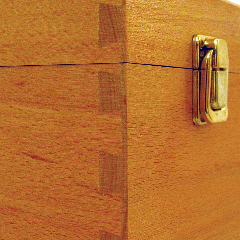 Caja para almacenaje madera de haya Colourfull Arts Howden