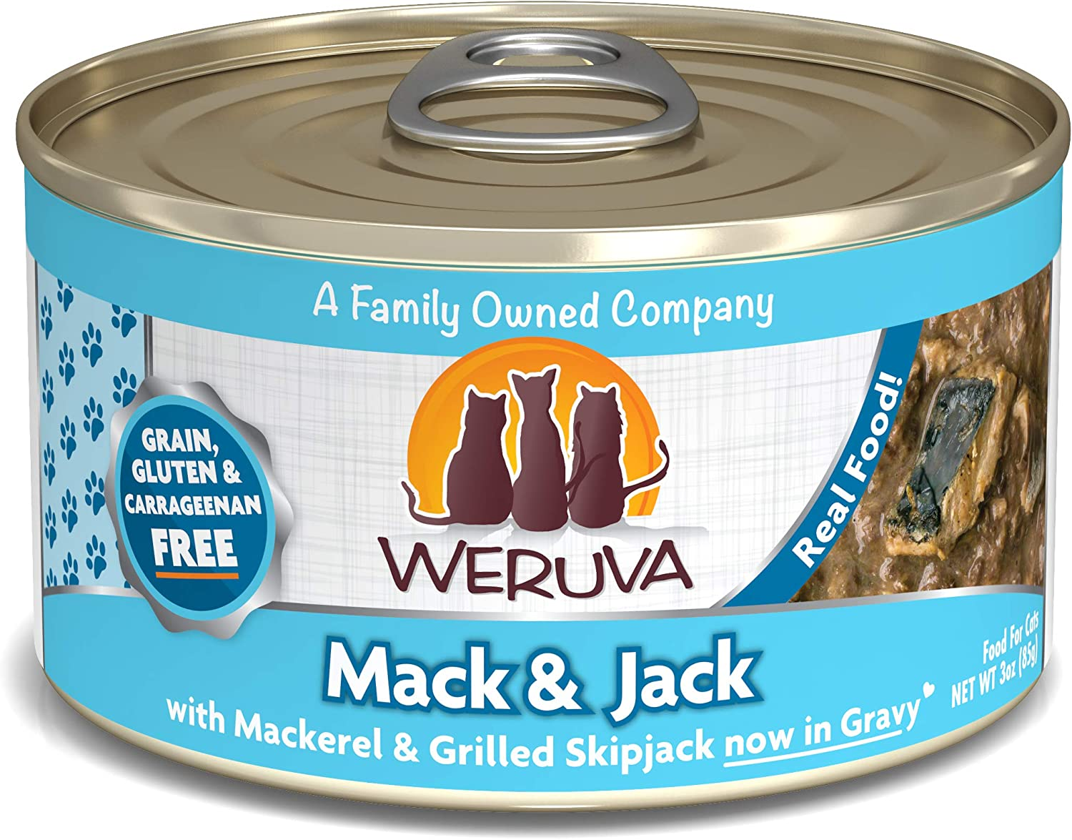Weruva Grain-Free Natural Canned Wet Cat Food, Classic Recipes
