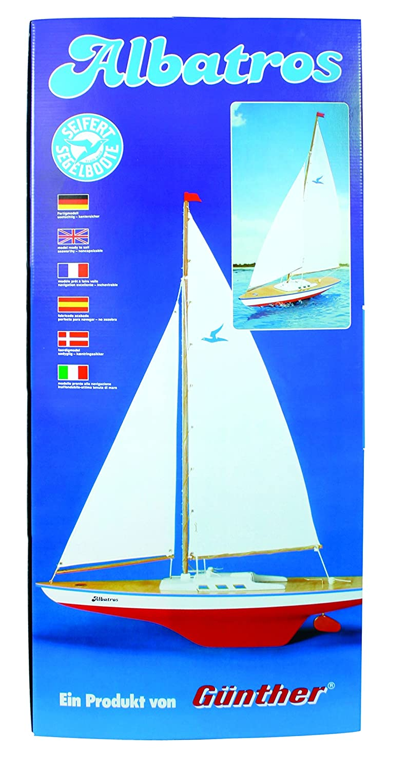 Guenther 1814 71 cm Albatros Sailing Boat Model: Amazon.co.uk: Toys & Games