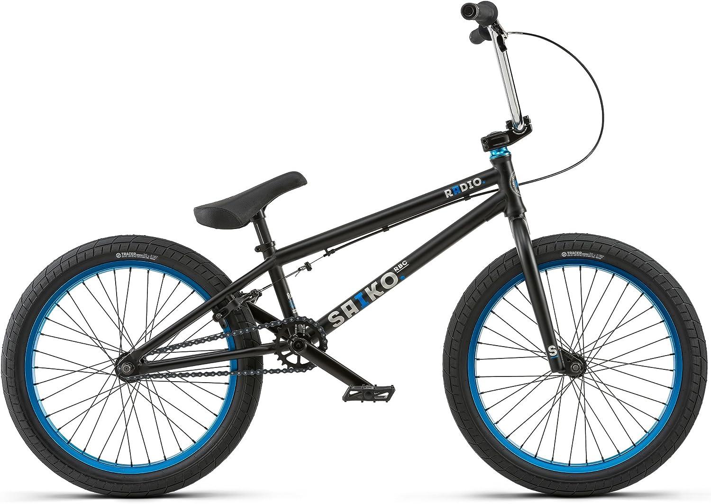 Radio Bikes Saiko Bicicleta BMX, Negro, 19.25