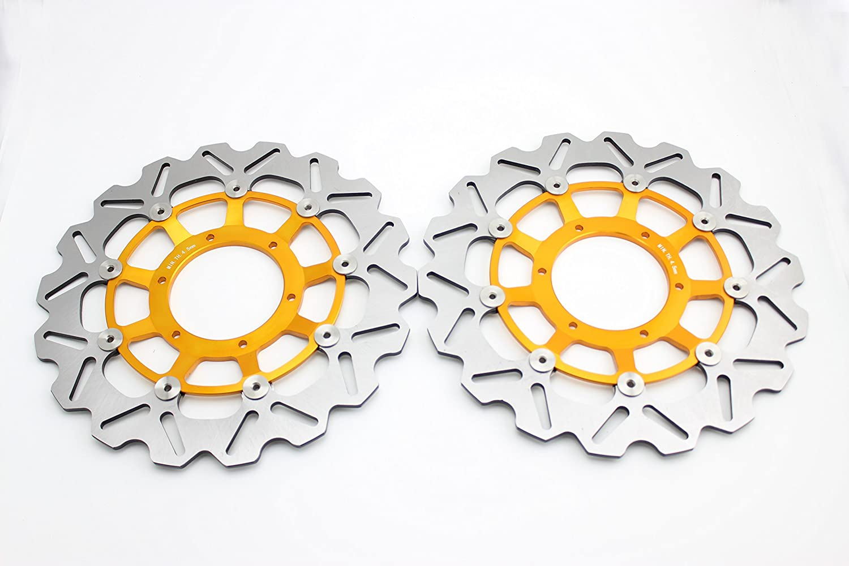 /Front Vented Disc Brake Rotor/ For Honda CBR600 2006-2014 Orange ADMOTO