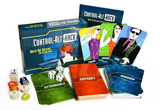Control-Alt-Hack: White Hat Hacking for Fun and Profit (A Card Game)