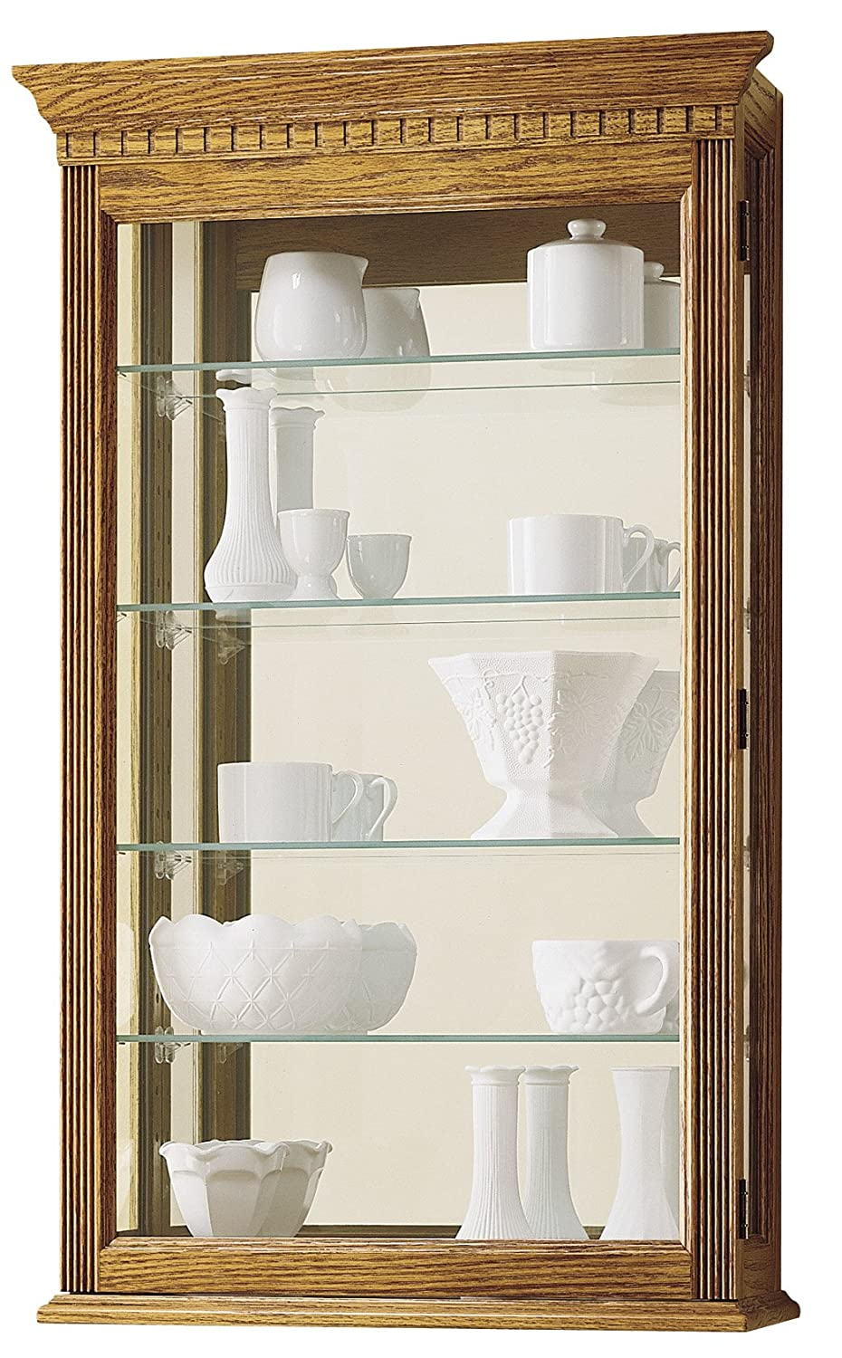 Amazon.com: Howard Miller 685-106 Montreal Curio Cabinet by ...
