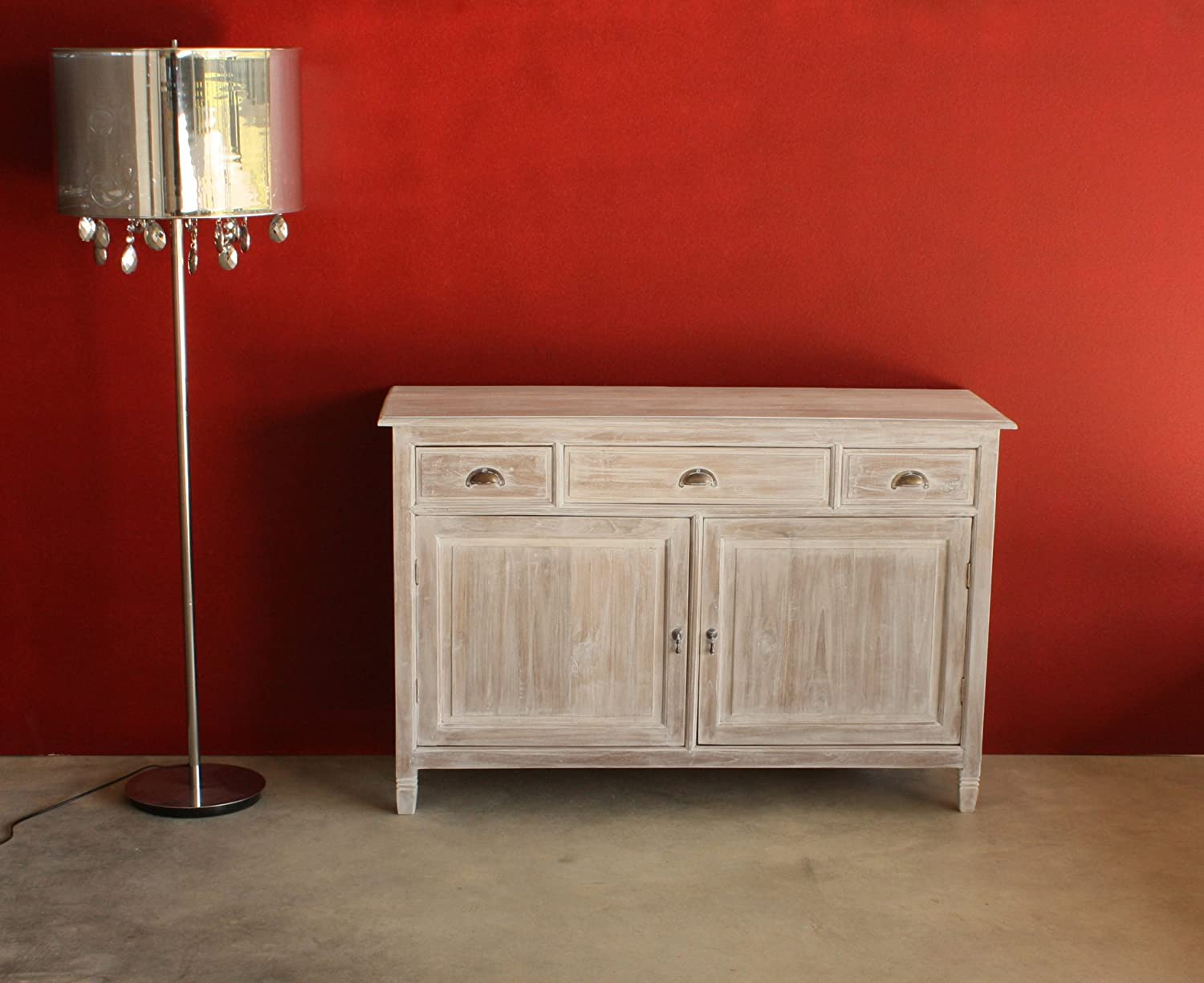 Top mobile buffet shabby chic provenzale bianco decapato - Mobile bianco decapato ...