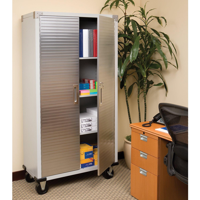 Amazon.com: Seville Classics Heavy Duty Storage Cabinet UHD16234 ...