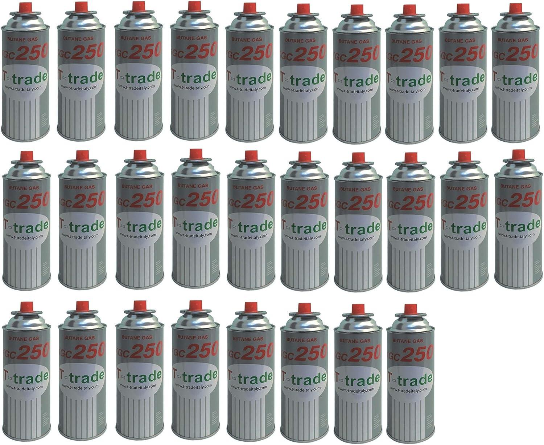 28 unidades – Cartucho bombona de gas 250 g Art. KCG250 para ...