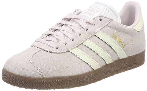 Adidas Gazelle W, Zapatillas de Deporte para Mujer, Azul (Indnob/Ftwbla/Lino 000), 37 1/3 EU adidas