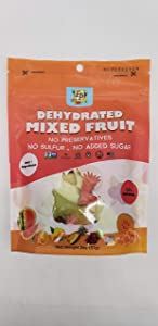 Fruit By Pesha Dehydrated MIXED FRUIT Slices – Sweet, Healthy Dehydrated Fruit Snacks