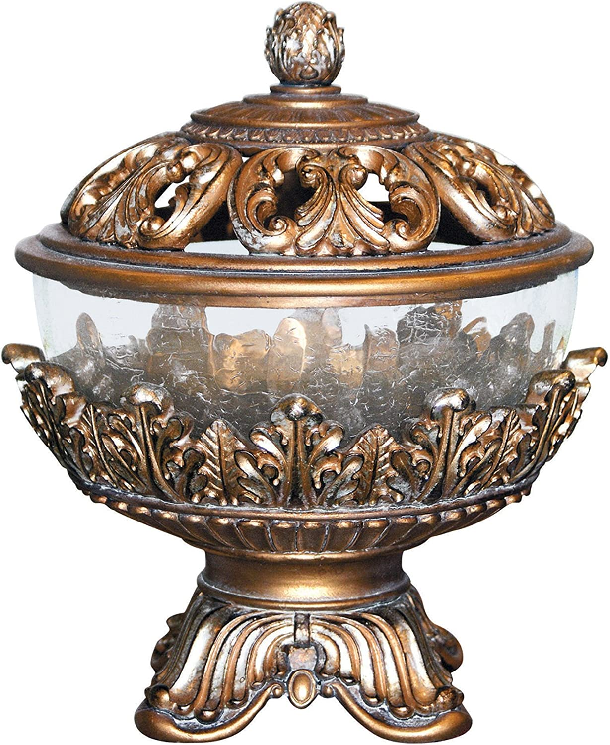 "OK Lighting OK-2654A 10.5"" H Royal Victorian Jewelry Box"