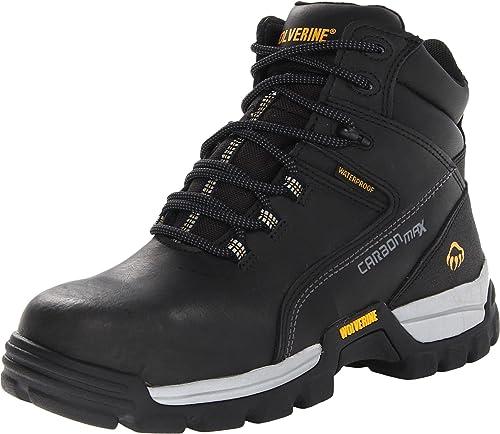 Lobezno Hombres de Asfalto Botas de Trabajo, Color Negro, Talla 44 EU M: Amazon.es: Zapatos y complementos