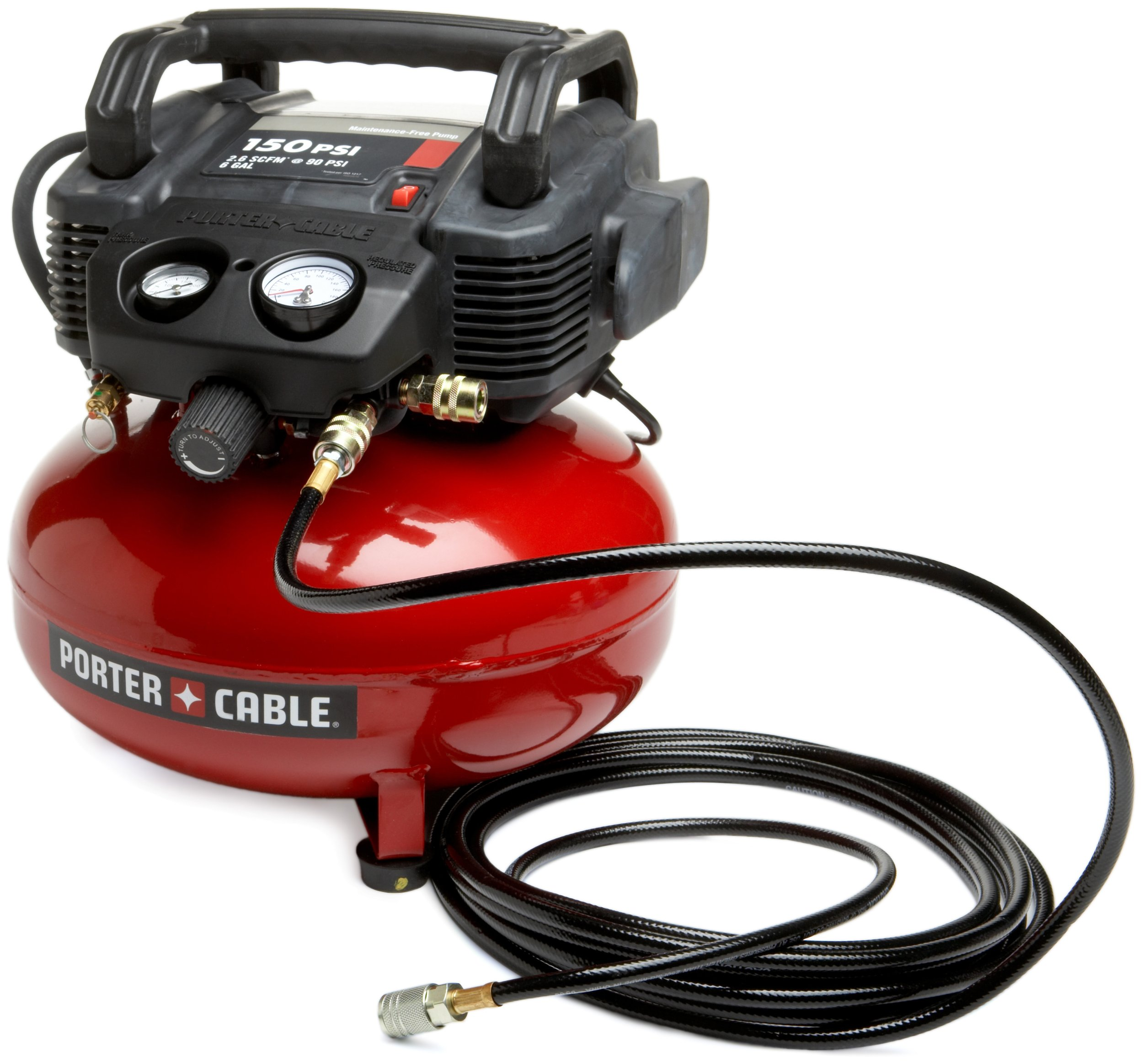 PORTER-CABLE C2002-WK Oil-Free UMC Pancake Compressor with 13-Piece Accessory Kit by PORTER-CABLE (Image #2)