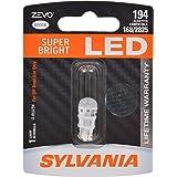 SYLVANIA ZEVO 194 T10 W5W White LED Bulb, (Contains 1 Bulb)
