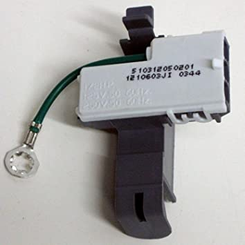 81jjxvlEgWL._SY355_ amazon com whirlpool 8318084 washer lid switch home improvement  at gsmx.co