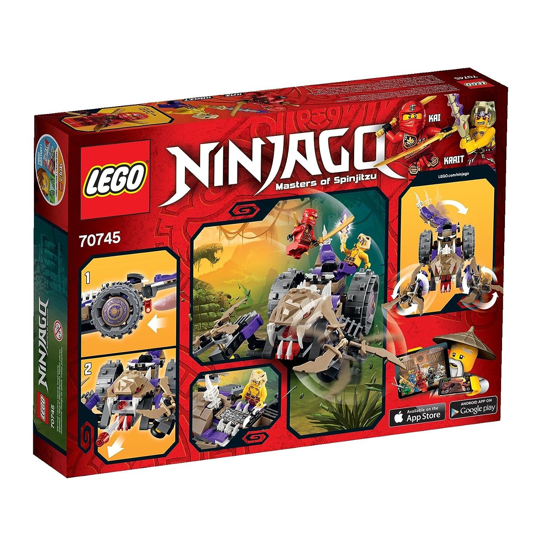 Amazoncom Lego Ninjago Anacondrai Crusher Toys Games