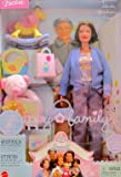 Barbie HAPPY FAMILY GRANDMA DOLL w GRANDMOTHER DOLL, Cuddly BEAR CHAIR, Rocking HORSE & More! (2003 Birthday Series)
