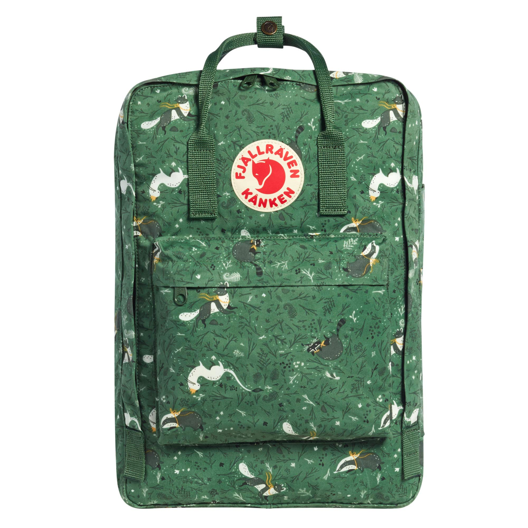 Fjallraven - Kanken Art Laptop 17'' Special Edition Backpack for Everyday, Green Fable by Fjallraven