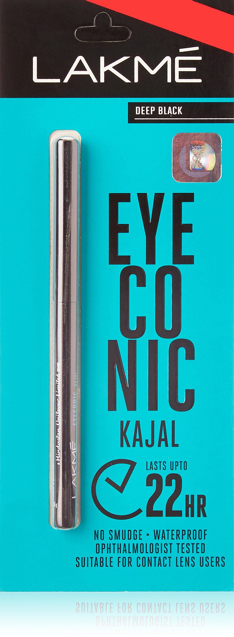 Lakme Eyeconic Kajal Black (0.35 g) - Set of 2