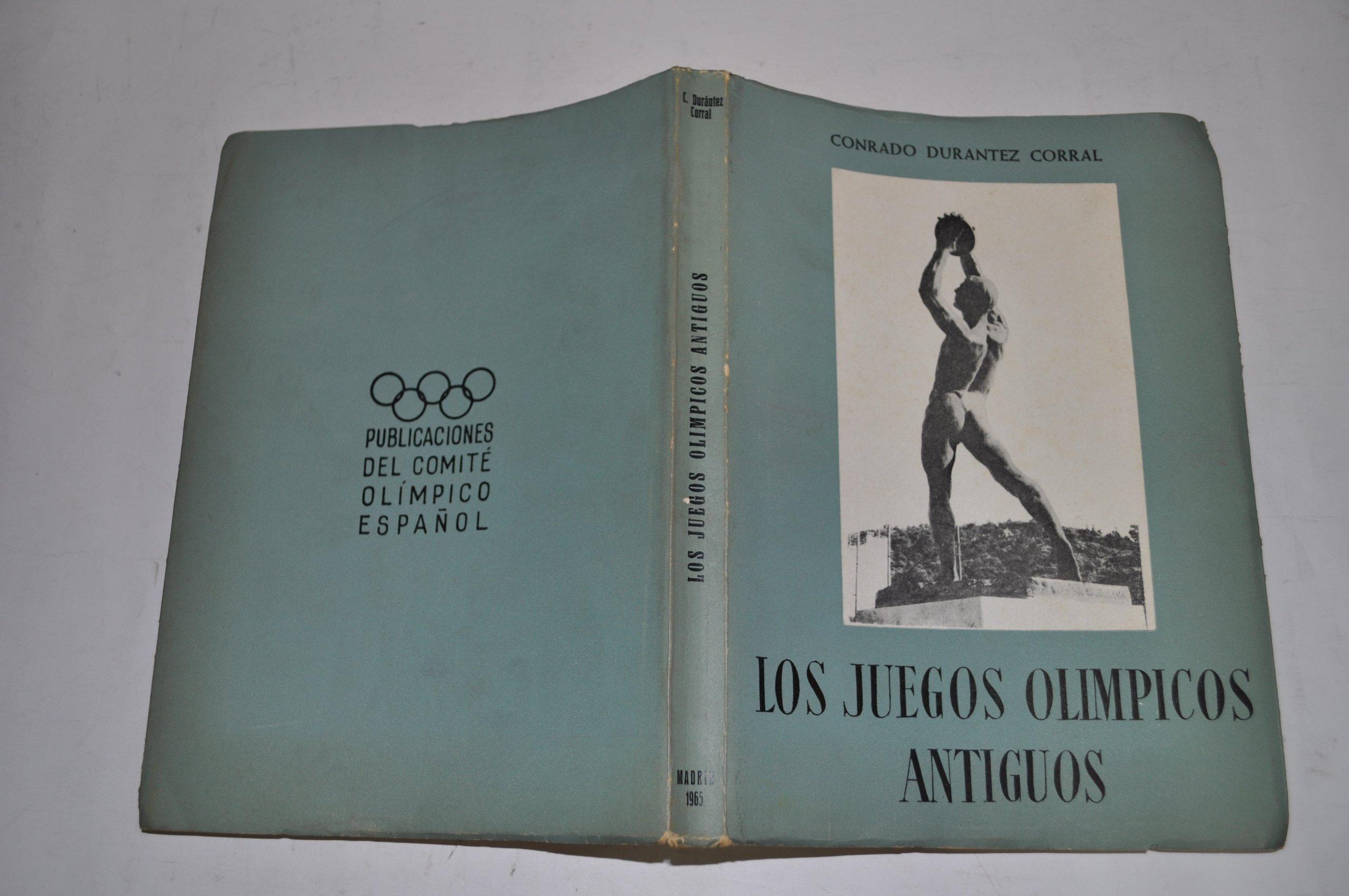 Los Juegos Olimpicos Antiguos Amazon Co Uk Conrado Durantez Corral
