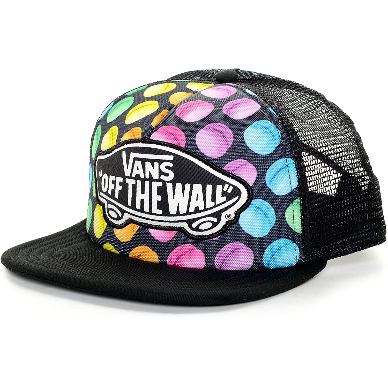 Vans Off The Wall Women s Beach Girl Trucker Hat Cap - Macaroons at Amazon  Women s Clothing store  238762c7393f