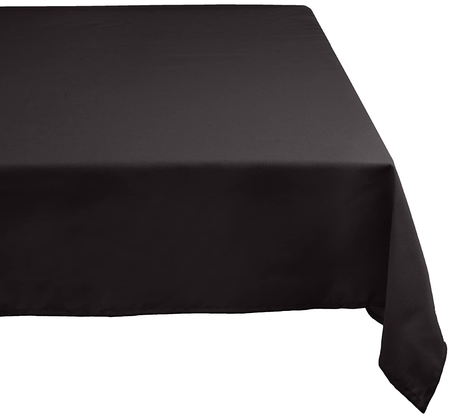 DII 60x84 Rectangular Polyester Tablecloth, Beige - Perfect for Fall, Brunch, Thanksgiving, Catering Events, Dinner Parties, Buffets, Weddings or Everyday Use CAMZ32558