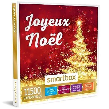 Joyeux Noel Audio.Smartbox Joyeux Noel Coffret Cadeau Saisonnier A Choisir Parmi 11500 Activites Soins Du Visage Ou Modelages Pilotage Diners Savoureux