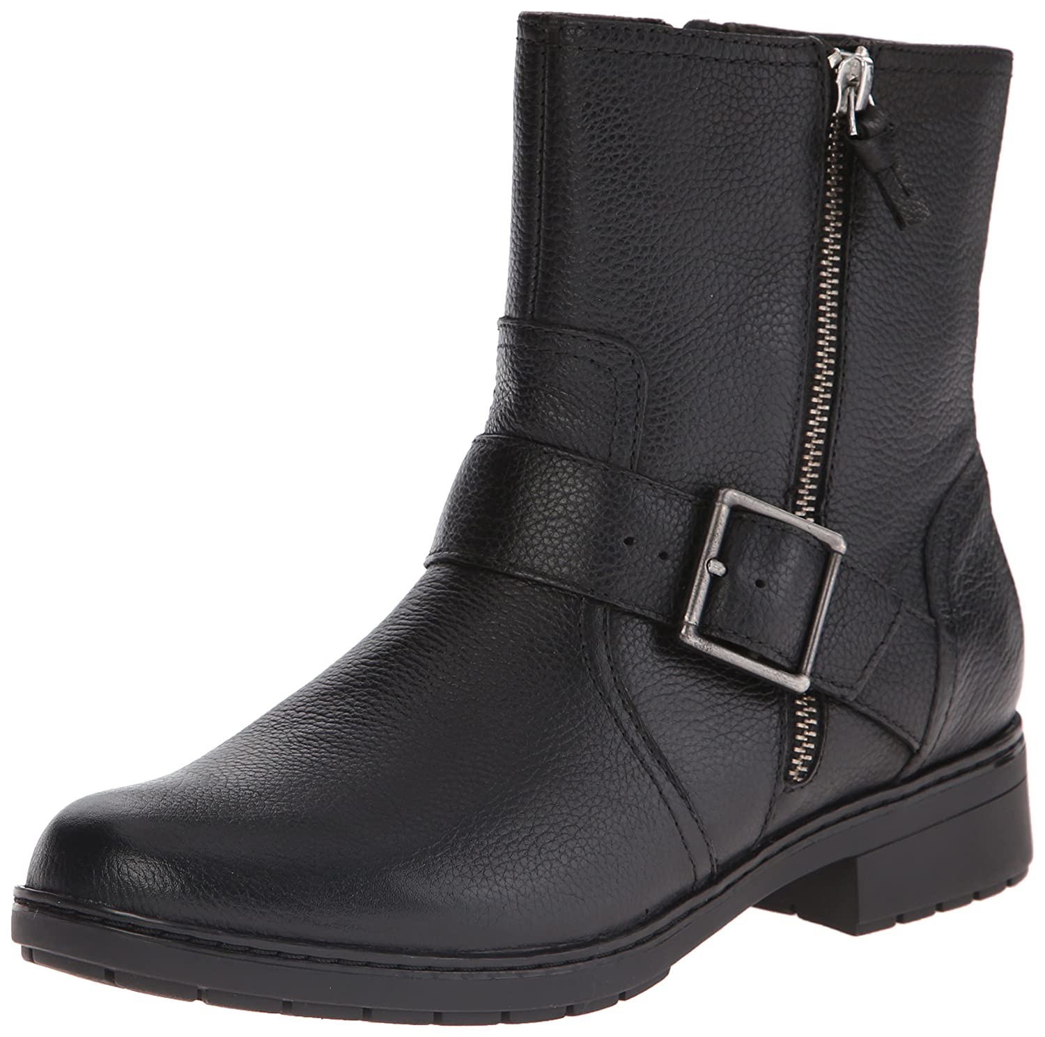 CLARKS Women's Merrian Lynn Boot B00TUCASYC 8.5 B(M) US|Black Leather