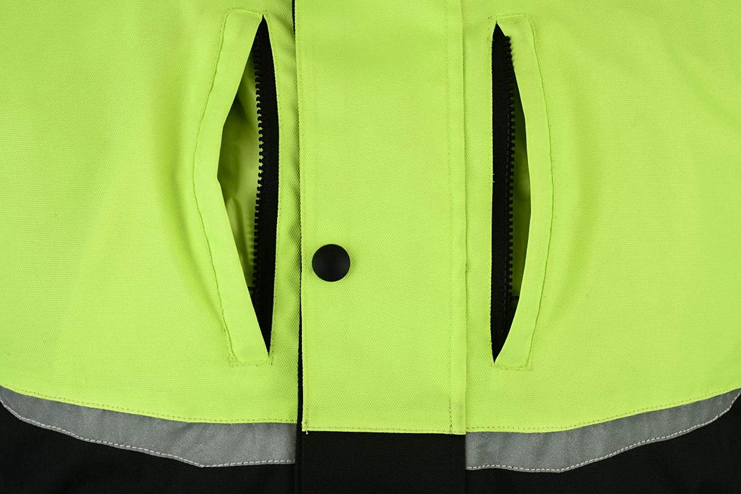 Texpeed Black /& Hi-Vis Short Length Armoured Motorcycle Jacket Sizes M-12XL