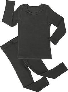 bdab568c87 AVAUMA Baby Boys Girls Pajama Set 6M-8T Kids Toddler Snug fit Cotton  Sleepwear