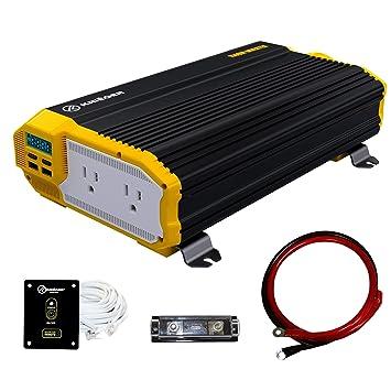 Krieger 1500 Watt 12V Power Inverter, Dual 110V AC: Amazon.in: Electronics