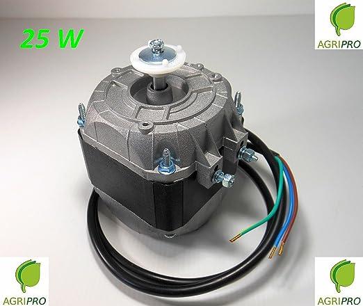 Motor con ventilador pentavalente W 25, compresor de nevera ...