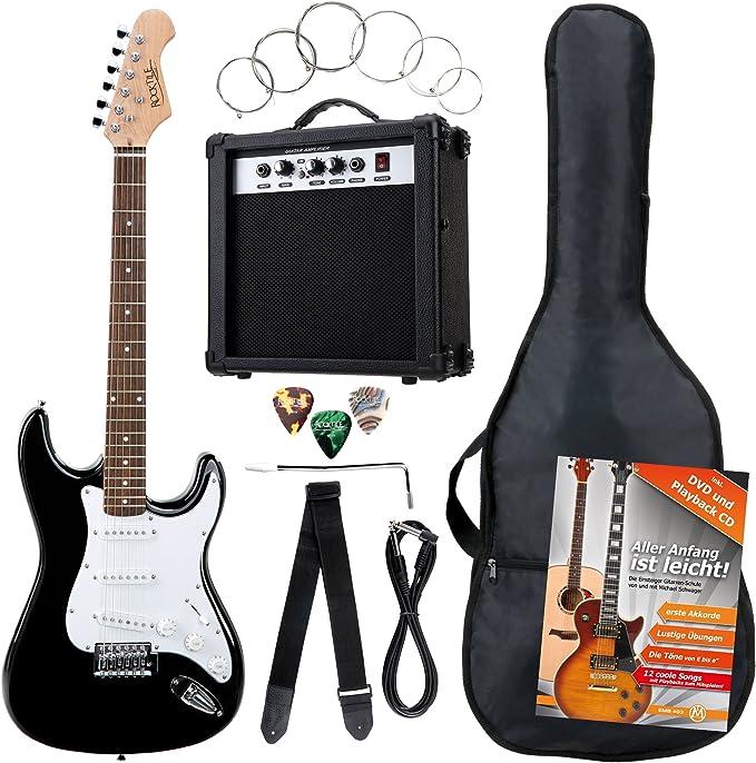 Rocktile 19331 - Pack guitarra eléctrica Banger 7