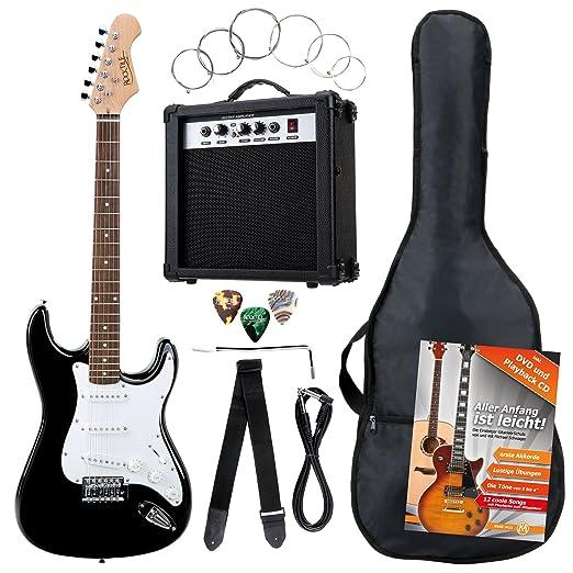 7 opinioni per Rocktile Banger's Pack- Set chitarra elettrica (amplificatore, tremolo,