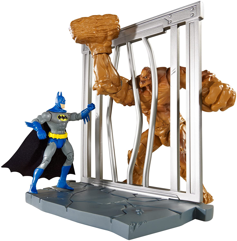 Batman DC Multiverse World Builder Figure batman Clayface