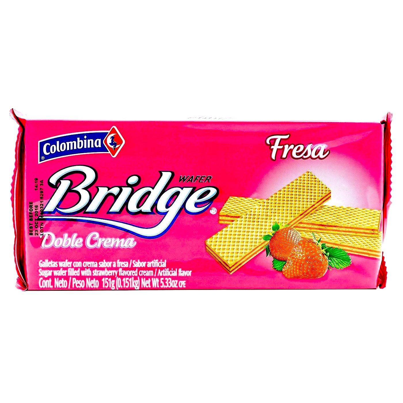 Amazon.com : Colombina Bridge Sugar Wafer (Pack of 24) : Grocery & Gourmet Food