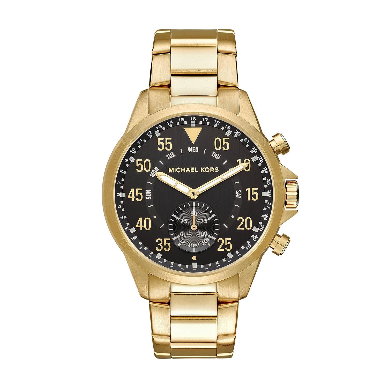 Michael Kors Mens Goldtone Gage Hybrid Watch