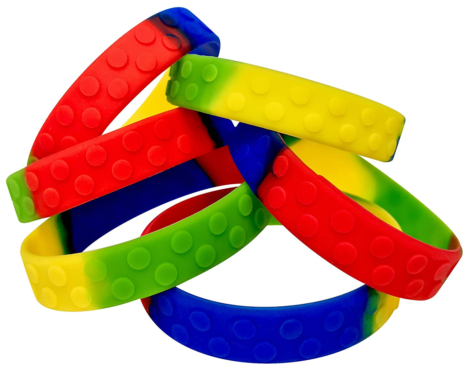 Eventitems Pack Silicone Bracelets Kids Image 2