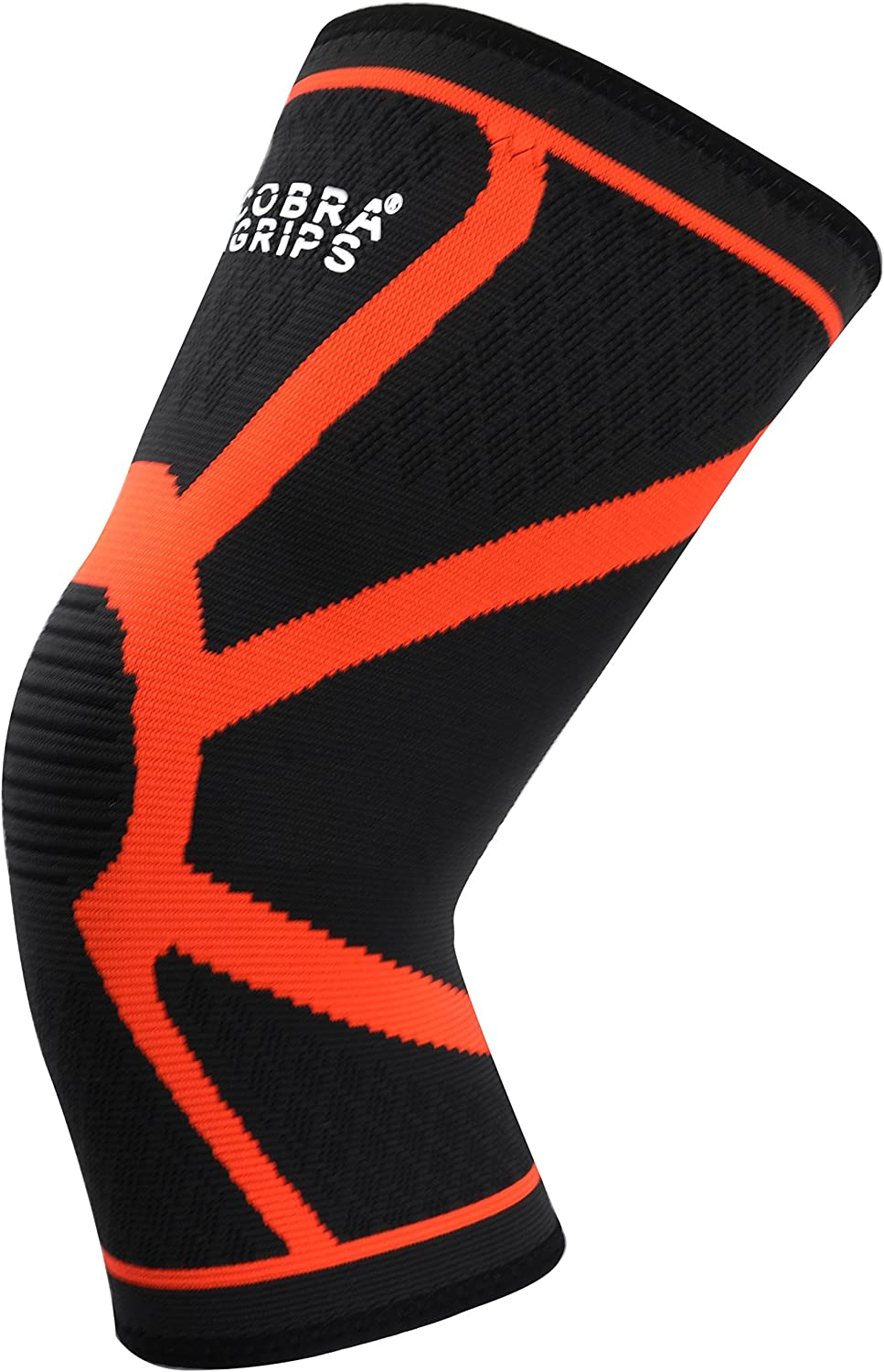 /& Compression for Weightlifting Powerlifting /& Crossfit Squats Both Women /& Men Knee Compression Sleeve Support 1 Pair