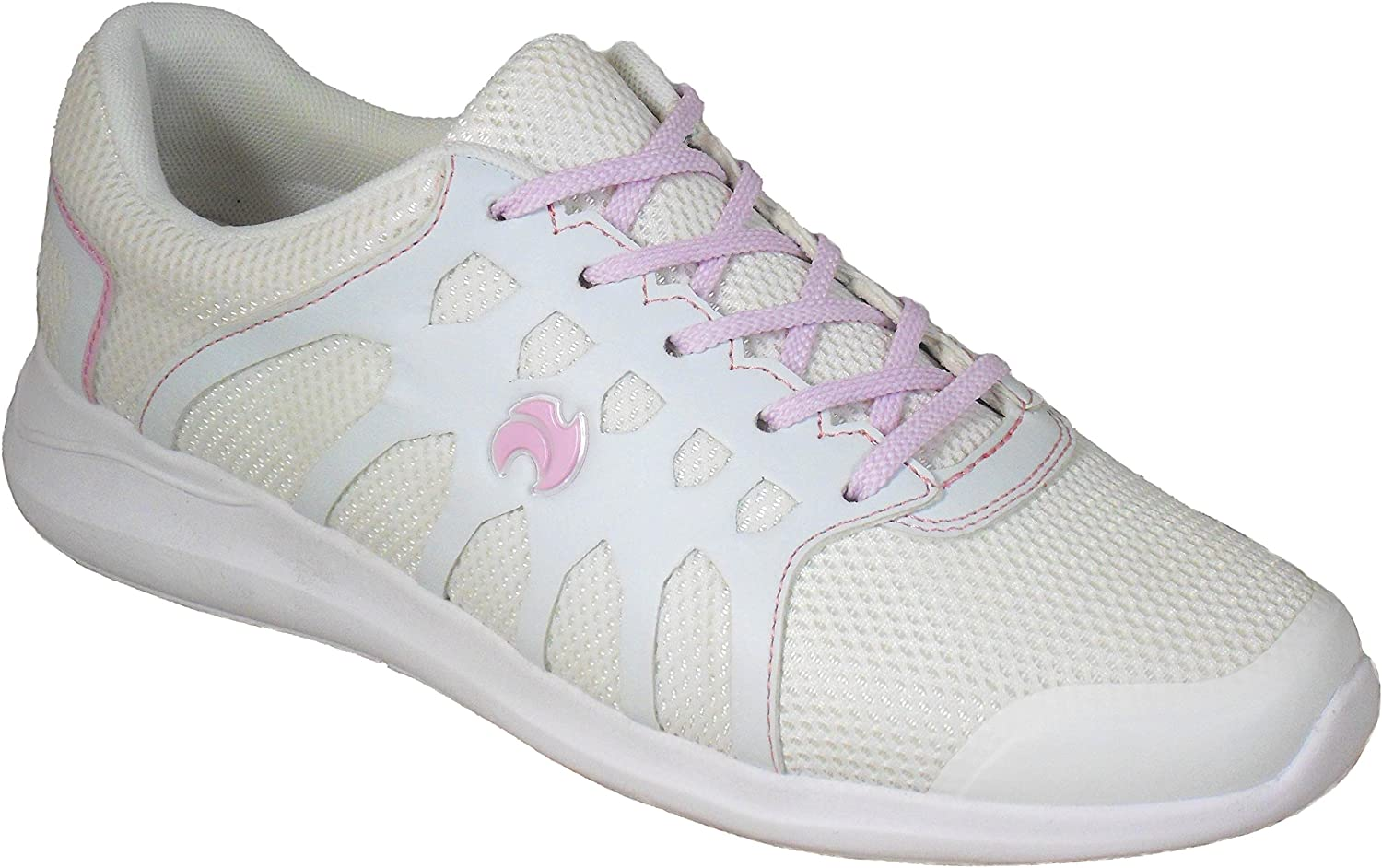 Womens New White Lightweight Bowling Trainers Shoes Size 3 4 5 6 7 8