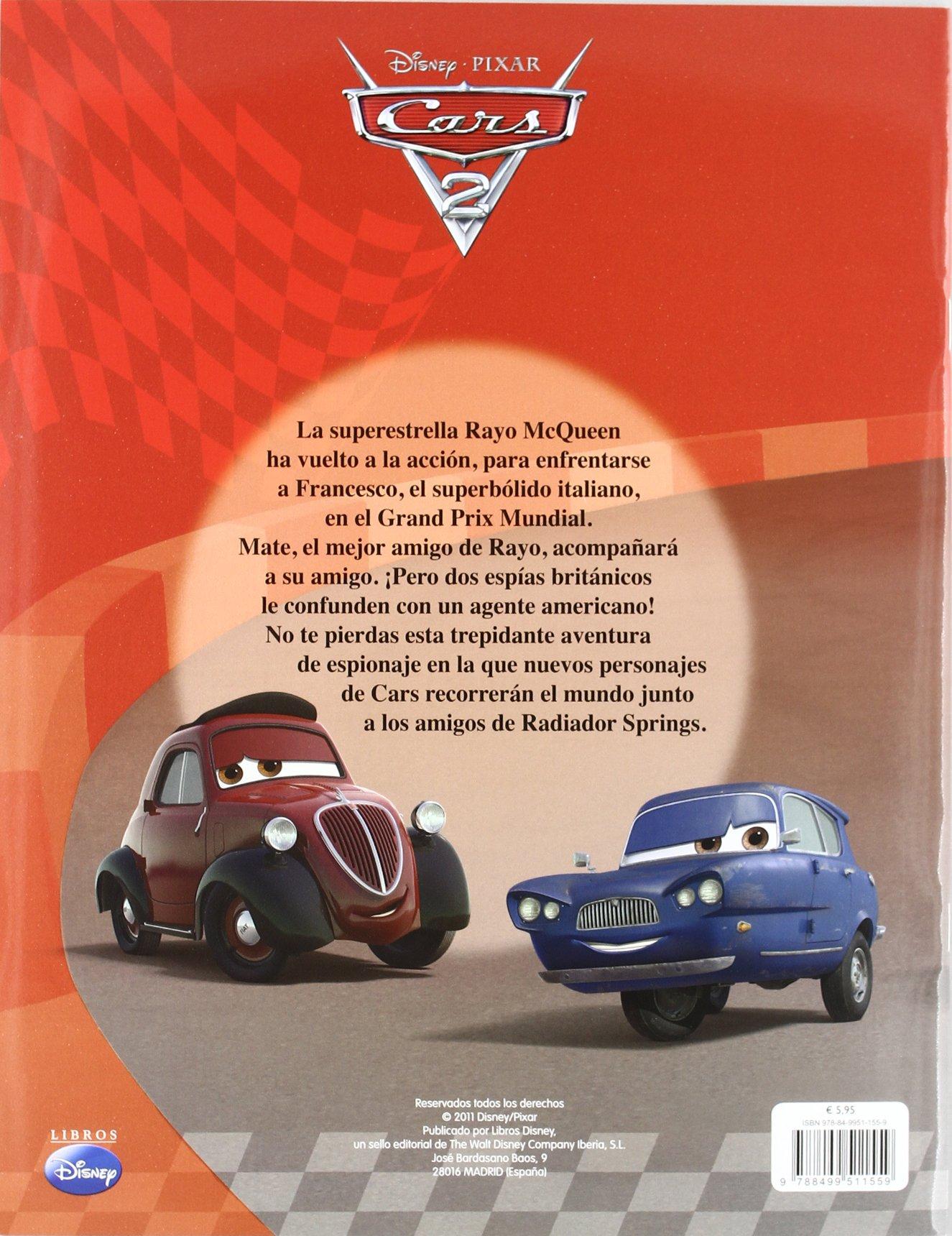 Cars 2: Libro de pegatinas: Jaime, (tr.) Disney Pixar; Paino de Pedro: 9788499511559: Amazon.com: Books