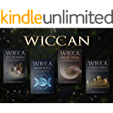 WICCAN: 4 BOOKS IN 1: The all-in-one solution to master the Wicca principles and enjoy its benefits in your life. Discover the secrets of the Moon, the Candle Magic and Herbal Spells