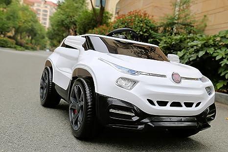 Babycar 1618B – Coche eléctrico para niños Fiat fcc4 Full Optional con mando a distancia,